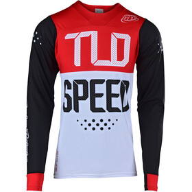 Troy Lee Designs Skyline Air Maillot à manches longues Homme, speedshop/black/red